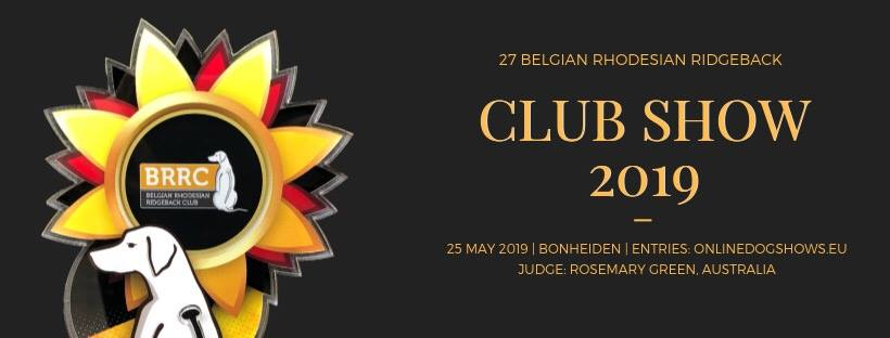 BRRC Club Show 2019