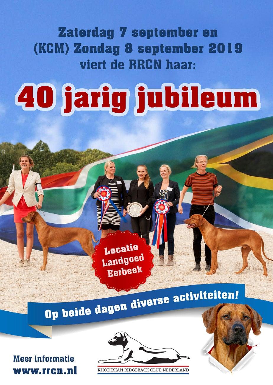Jubileumweekend icm KCM 2019
